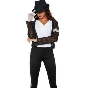 Music Legs Other - Michael Jackson Costume MISS JACKSON COSTUME SET  sc 1 st  Poshmark & Music Legs Other | Michael Jackson Costume Miss Jackson Costume Set ...